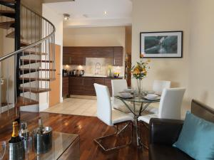 The lobby or reception area at Garden View, 6 Rodley Hall, Leeds