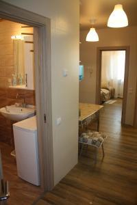 Ванная комната в Апартаменты на Ленина 146