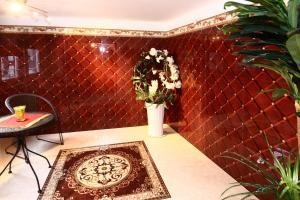 Ein Badezimmer in der Unterkunft Braustübchen