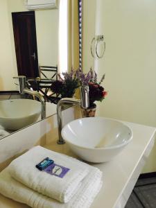 A bathroom at Hotel Apolo XVI