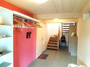 Двухъярусная кровать или двухъярусные кровати в номере Ferienhaus Fuhr