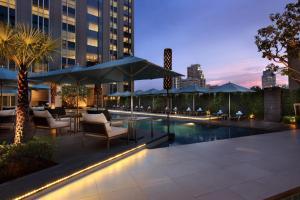 The swimming pool at or near Sofitel Bangkok Sukhumvit