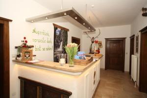 Kuchyň nebo kuchyňský kout v ubytování Pension Spreitzhof & Appartement Royer