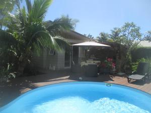 A piscina localizada em Chambre Bleue ou nos arredores