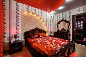 Кровать или кровати в номере Apartment On Petrova 20