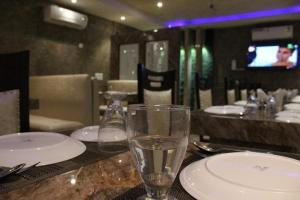 A restaurant or other place to eat at Hotel Celebration