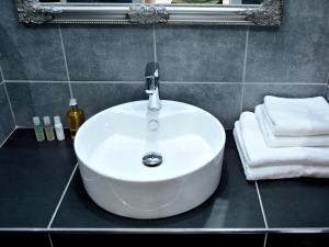 Ванная комната в Hotel Atrium