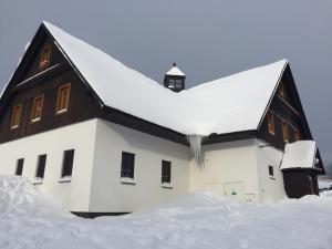 Apartments Dřevona II v zimě