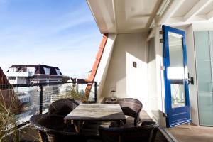 Een balkon of terras bij Appartementen Domburg