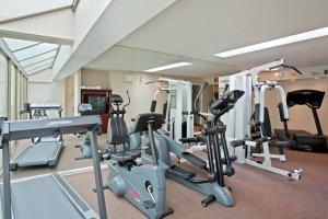 The fitness center and/or fitness facilities at Atrium Inn Vancouver