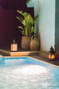 The swimming pool at or near Riad D'or