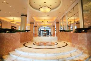 The lobby or reception area at Hanoi Daewoo Hotel