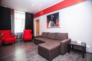 Гостиная зона в Kvart-Hotel Love Moscow