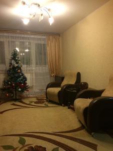 Гостиная зона в Apartment On Tsentralnaya