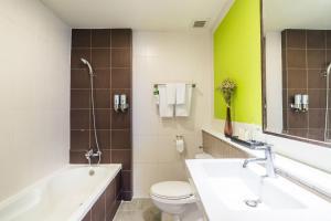 Łazienka w obiekcie Hotel De Bangkok