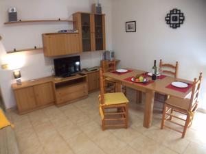 Küche/Küchenzeile in der Unterkunft Apartment Asequin Beach