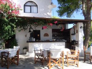 Εστιατόριο ή άλλο μέρος για φαγητό στο Agistri Club Hotel