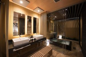 A bathroom at Hotel in the Moon (Adult Only)