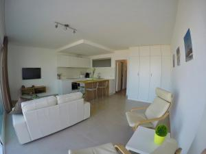 A seating area at Apartment S7