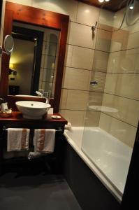 Un baño de Hotel Ciria