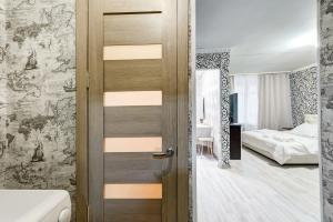 Ванная комната в Apartment on 2-ya Brestskaya 31