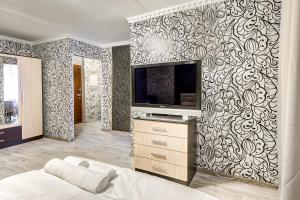 Телевизор и/или развлекательный центр в Apartment on 2-ya Brestskaya 31