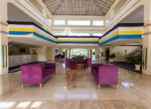 The lobby or reception area at Mystique St Lucia by Royalton