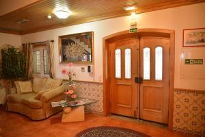 The lobby or reception area at Casa Estrela de Alva