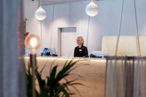 Staff members at Hotel Birger Jarl