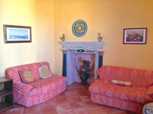 A seating area at Leucosia