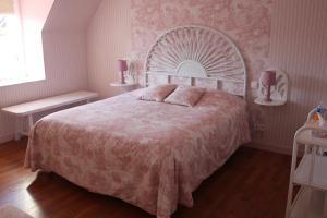 Cama o camas de una habitación en Au p'tit Mont