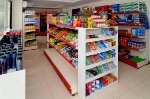 A supermarket or other shops at the hotel or nearby