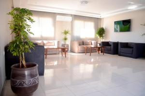 The lobby or reception area at Safar Budget