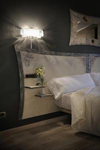 Cama o camas de una habitación en Posada Dos Aguas
