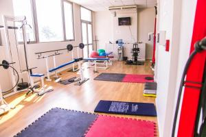 The fitness center and/or fitness facilities at Amérian Villa Maria Park Hotel
