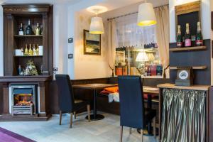 Lounge nebo bar v ubytování Hotel Berg