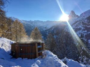 Chalet Bergheim during the winter