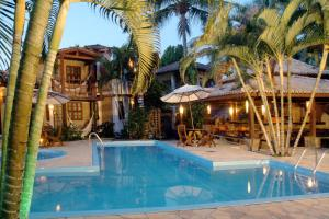 A piscina localizada em Pousada Arraial Candeia ou nos arredores