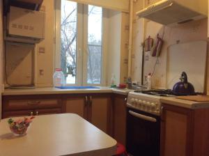 Кухня или мини-кухня в Apartment Nagibina