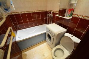 Ванная комната в Apartment on Moskovskaya