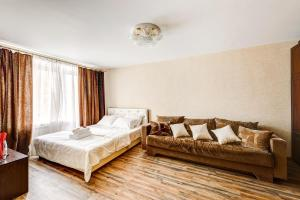 Гостиная зона в Apartments Bolshoy Kondratyevskiy pereulok 8s1