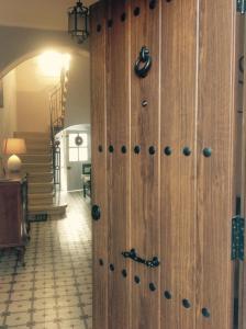 A bathroom at Casa Rural Casta Alvarez