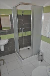 Kúpeľňa v ubytovaní GAS Truck centrum