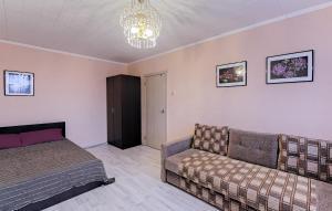 Гостиная зона в ВАМкНАМ Дыбенко 25