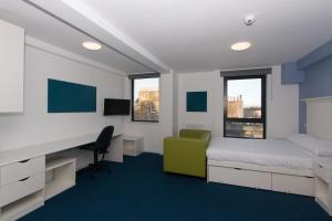 A television and/or entertainment center at Destiny Student – Murano (Campus Accommodation)