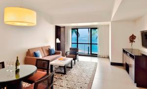 A seating area at Goa Marriott Resort & Spa