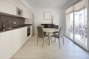 Una cocina o zona de cocina en Fuenterrabia by FeelFree Rentals