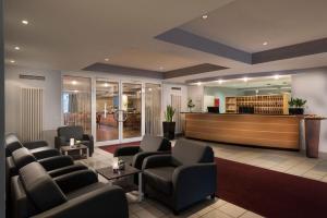 Lobby/Rezeption in der Unterkunft Best Western Hotel Dortmund Airport