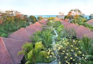 A bird's-eye view of Bali Reef Resort