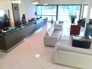 The lobby or reception area at Garcia Palace Hotel